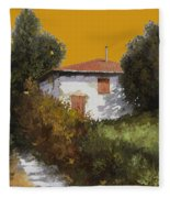 Casa Al Tramonto Fleece Blanket