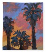 Casa Tecate Sunrise Fleece Blanket