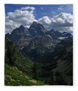 Cascade Canyon North Fork Fleece Blanket