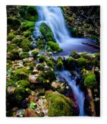 Cascade Creek Fleece Blanket