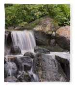 Cascade Waterfall Fleece Blanket