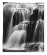Cascades Of Lower Lewis Falls Fleece Blanket