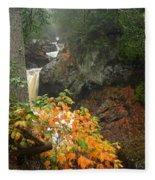 Cascading Steps Fleece Blanket
