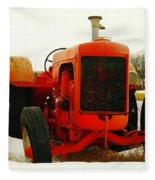 Case Tractor Fleece Blanket