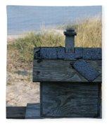 Casetta Per Uccellini Fleece Blanket