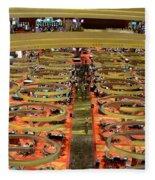 Casino Floor Marina Bay Sands Singapore Fleece Blanket