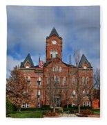Cass County Courthouse Fleece Blanket