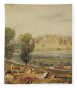 Cassiobury Park, Hertfordshire Fleece Blanket