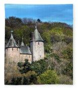 Castell Coch Cardiff Fleece Blanket