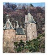 Castell Coch Fleece Blanket
