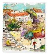 Castelo De Vide 06 Fleece Blanket