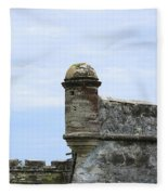 Castillo De San Marcos Fleece Blanket