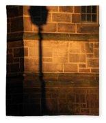 Casting Shadows Fleece Blanket