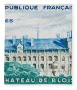 Castle Blois Fleece Blanket