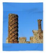 Castle Brickwork Fleece Blanket