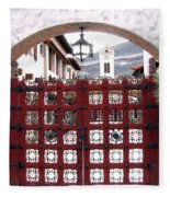 Castle Gate Fleece Blanket
