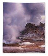 Castle Geyser Fleece Blanket