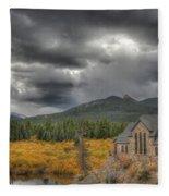 Castle Of Colors Fleece Blanket