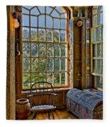 Castle Office Fleece Blanket