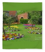 Castle Park Gardens  Fleece Blanket