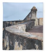 Castle Walls 2 Fleece Blanket