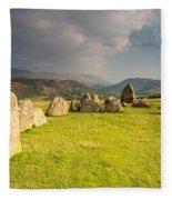Castlerigg Circles Inner Chamber Fleece Blanket