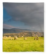 Castlerigg Stone Circle Fleece Blanket