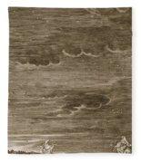 Castor And Pollux, 1731 Fleece Blanket