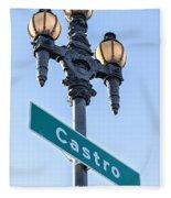 Castro Lightpole Fleece Blanket