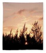 Casurina Sunset Fleece Blanket