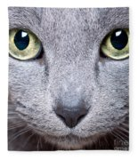 Cat Eyes Fleece Blanket