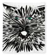 Cat Iwan Fleece Blanket