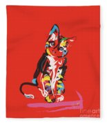 Cat Prins Fleece Blanket