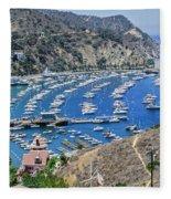 Catalina Harbor Fleece Blanket