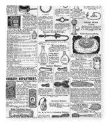 Catalogue Page, 1902 Fleece Blanket