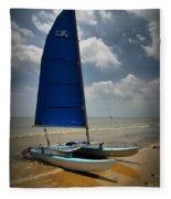 Catamaran Fleece Blanket
