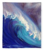 Catch Another Wave Fleece Blanket