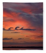 Catch The Cloud Wave Fleece Blanket