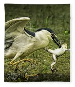 Catching Supper Fleece Blanket