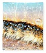 Caterpillar-01 Fleece Blanket