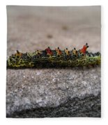 Caterpillar Fleece Blanket