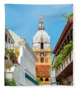 Cathedral And Balconies Fleece Blanket