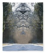 Cathedral And Its Spirit Fleece Blanket
