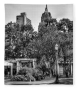 Cathedral And Rsa Fleece Blanket