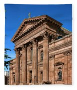 Cathedral Basilica Of Saints Peter And Paul Fleece Blanket