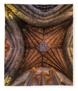 Cathedral Ceiling Fleece Blanket