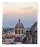 Cathedral Dome And City Fleece Blanket