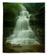 Cathedral Falls Fleece Blanket