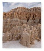 Cathedral Gorge Morning Fleece Blanket