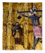 Cathedral Interior Fleece Blanket